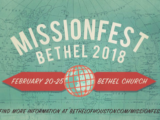 MissionFEST at Bethel Church of Houston