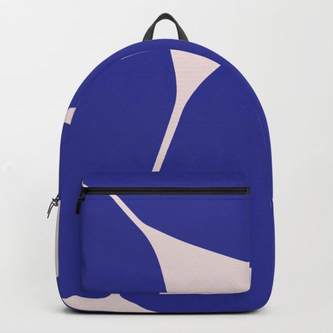 PetraKaksonen Let's Play Betsy Backpack Blue
