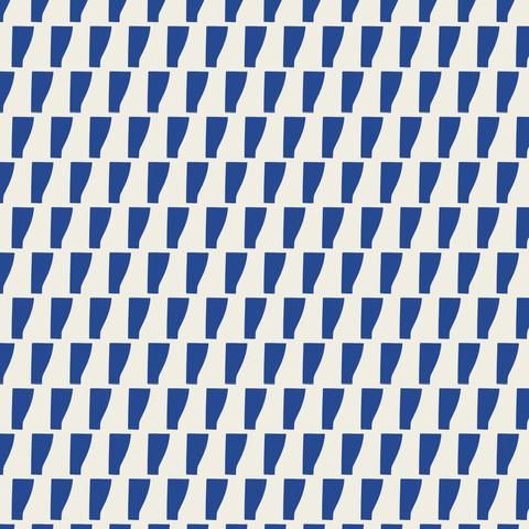 Petra Kaksonen Blue Pattern