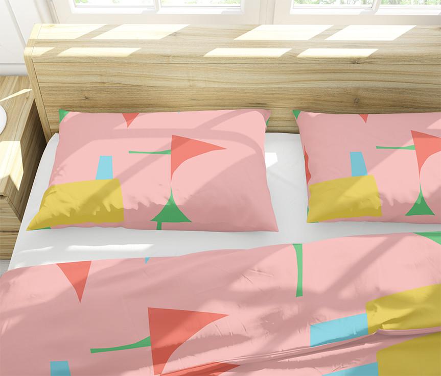 Petra Kaksonen Modern Pink and YellowBedding