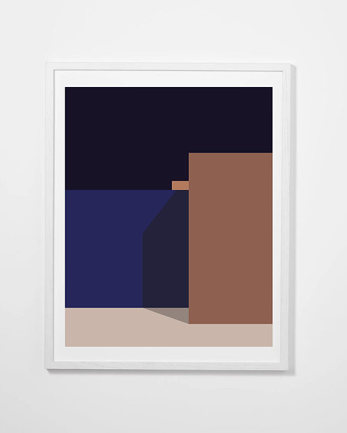 The Blue Series Print #2