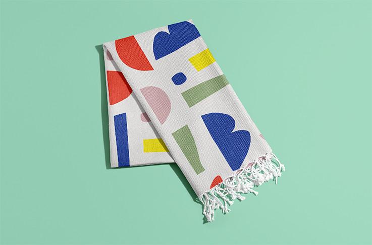 Petra Kaksonen Colourful Karkkipaiva Pattern