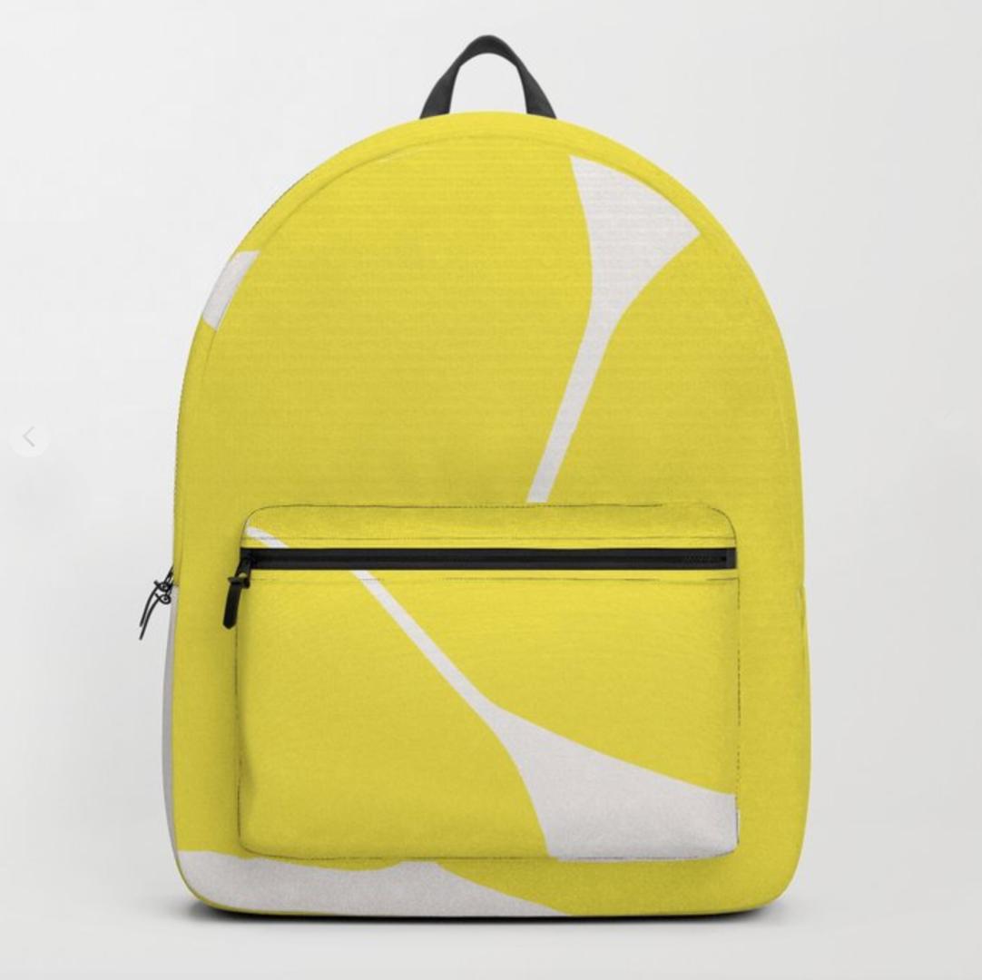 PetraKaksonen Let's Play Betsy Backpack Yellow