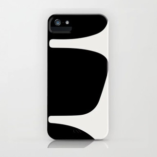 Betty iPhone Cover Black