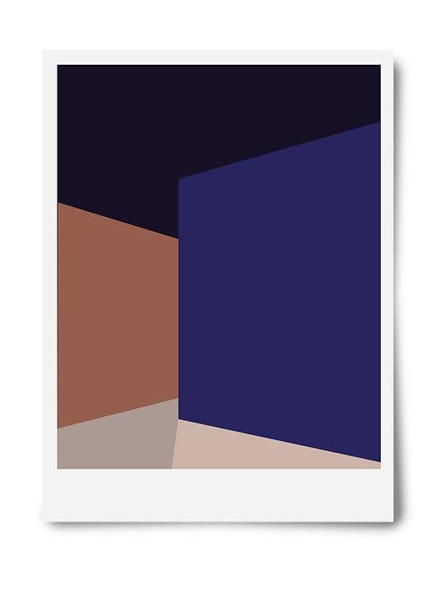 The Blue Series Print #3