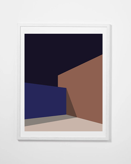The Blue Series Print #1