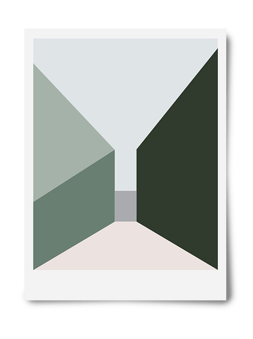 The Green Series Print #3