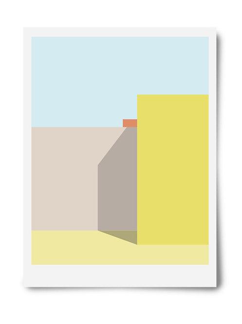 The Yellow Series Print #3