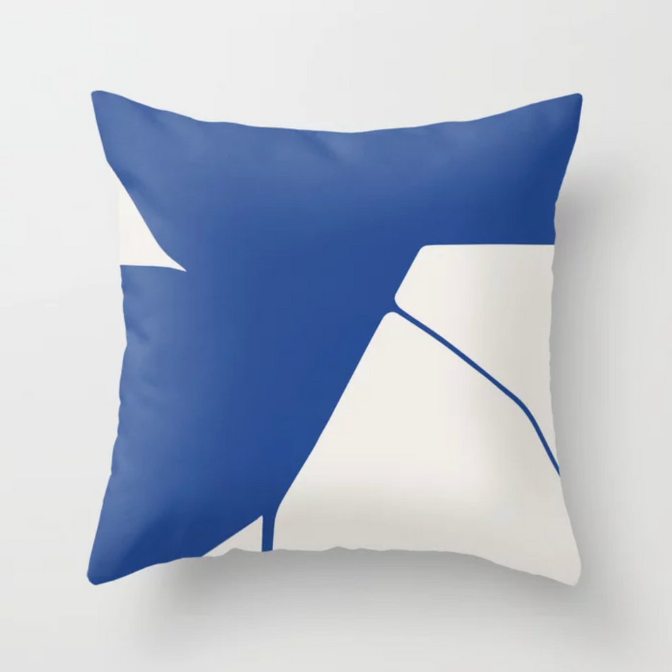 Petra Kaksonen Blue Pillow
