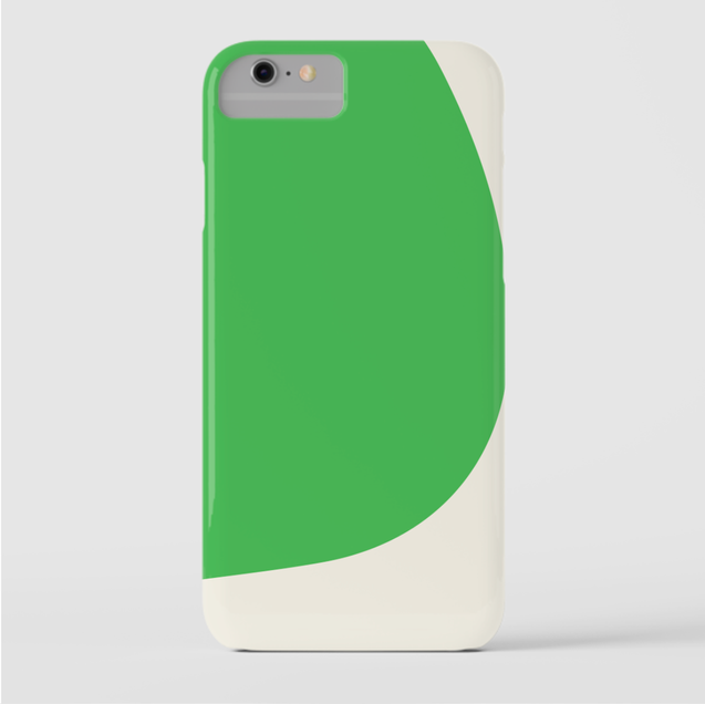 Betty iPhone Cover Green