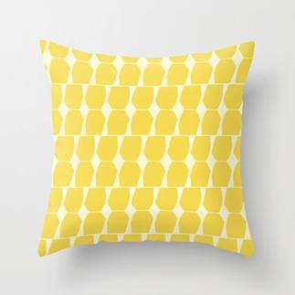 Tapio Throw Pillow Yellow Small
