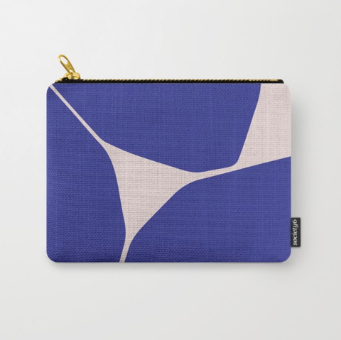 Betsy Travel Pouch in Blue