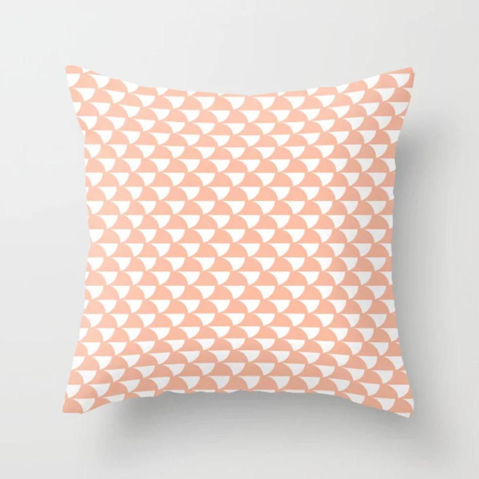 Petra Kaksonen Pink Wave Pillow