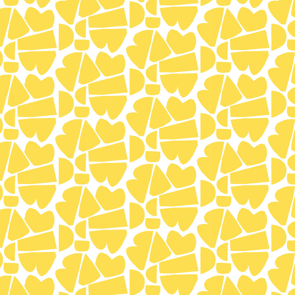 Petra Kaksonen Yellow Cutout Pattern