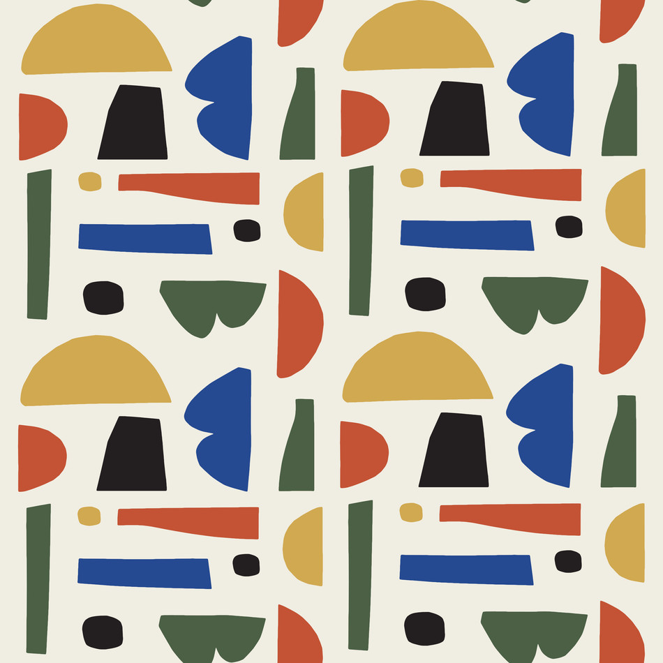 Petra Kaksonen Colourful Cutout Pattern