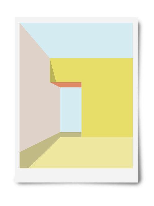 The Yellow Series Print #1
