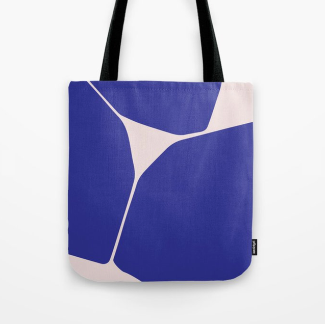 Betsy Tote Bag in Blue