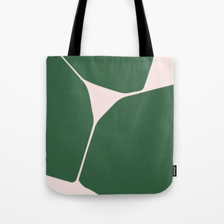 Betsy Tote Bag in Green