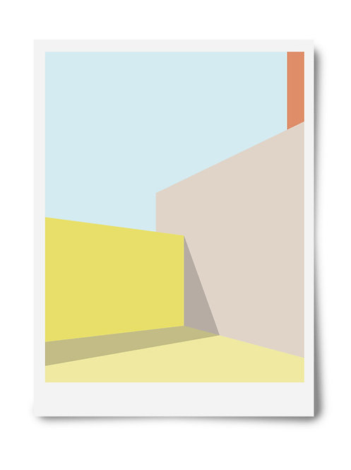 The Yellow Series Print #2