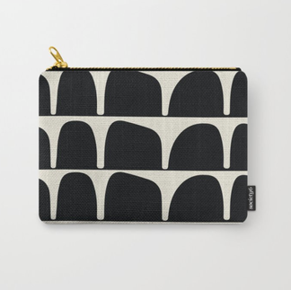 Tilly Travel Pouch in BW