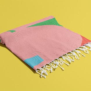 Petra Kaksonen Puutarha Towel