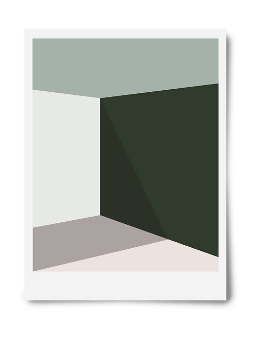 The Green Series Print #2