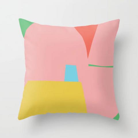 Petra Kaksonen Puutarha Throw Pillow