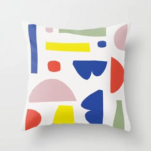 Petra Kaksonen Karkkipaiva Pillow
