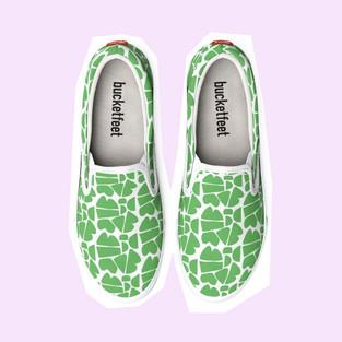 Petra Kaksonen Happy Shoes Green