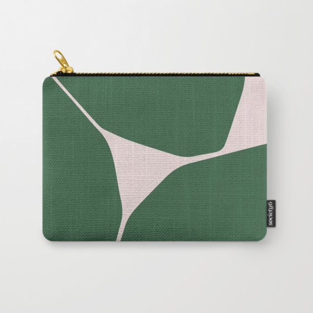 Betsy Travel Pouch in Green
