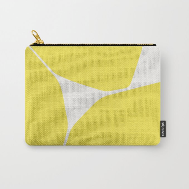 Betsy Travel Pouch in Yellow