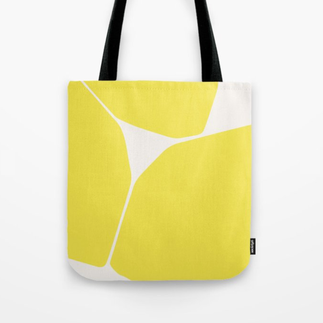 Betsy Tote Bag in Yellow