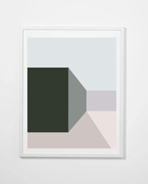 The Green Series Print #1