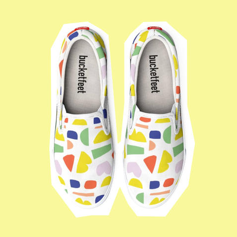 HAPPY CANVAS SHOES