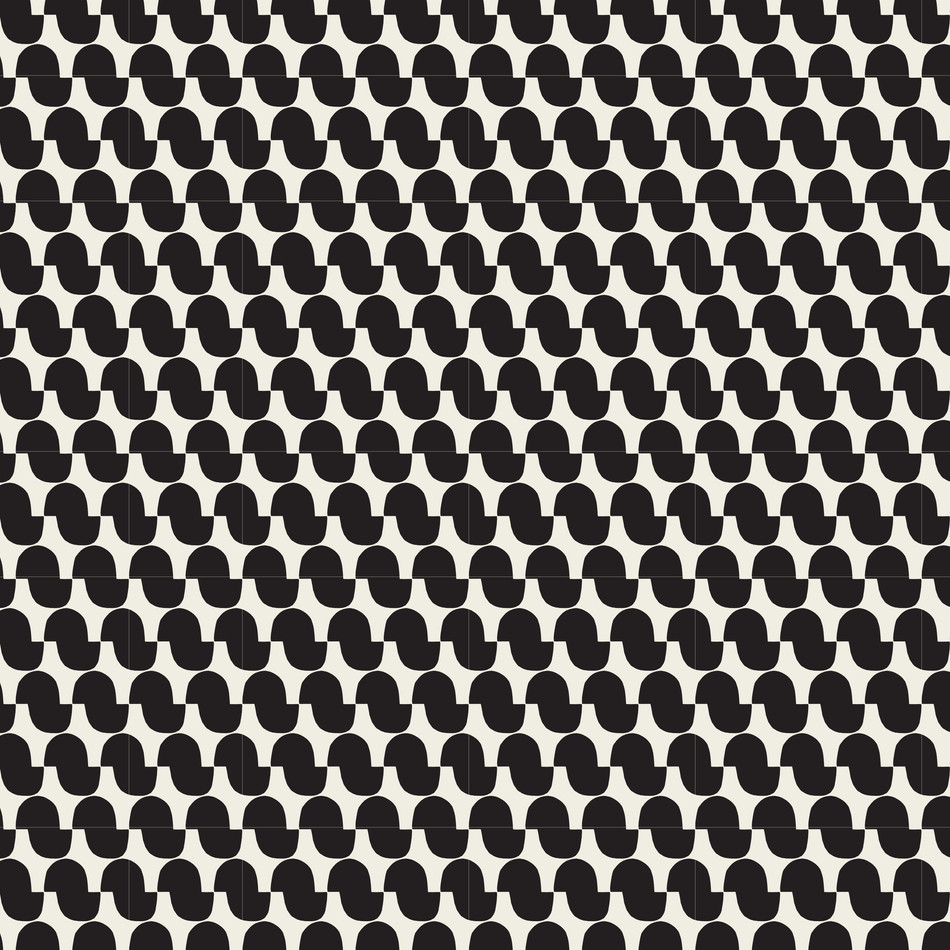 Petra Kaksonen Black and white Mukula Cutout Pattern