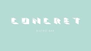 Concret Bistro bar