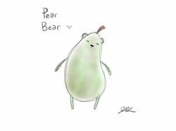 Pear Bear is born!