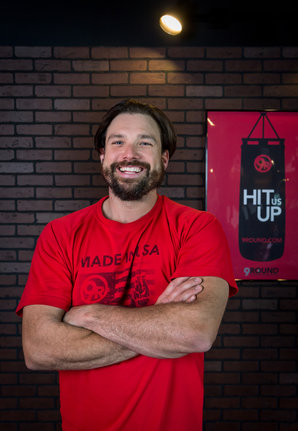 Kick boxing gym owner