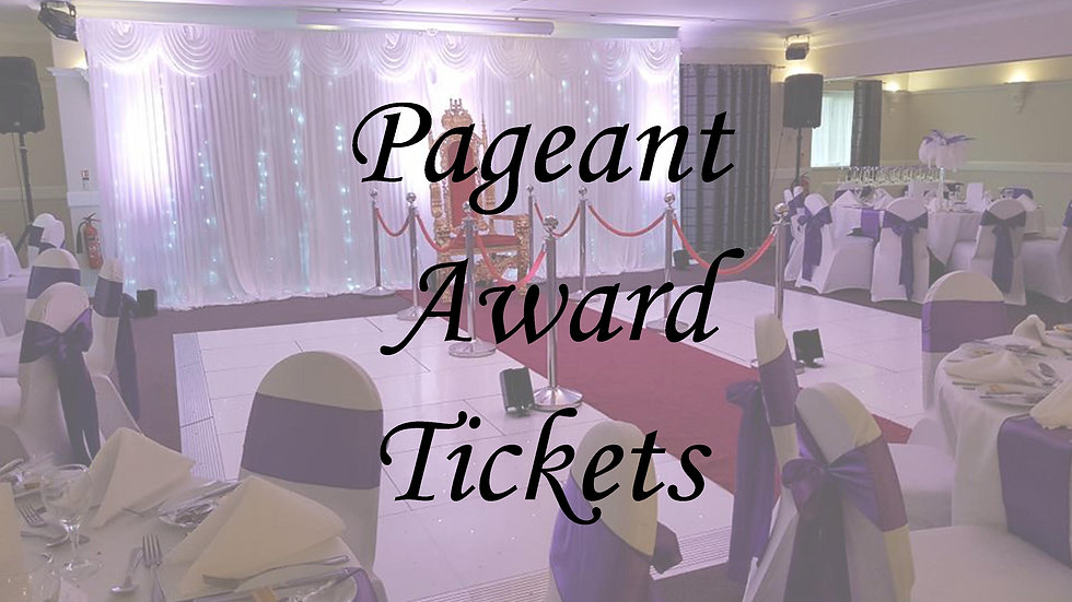 copy of Pageant Awards - Child Ticket