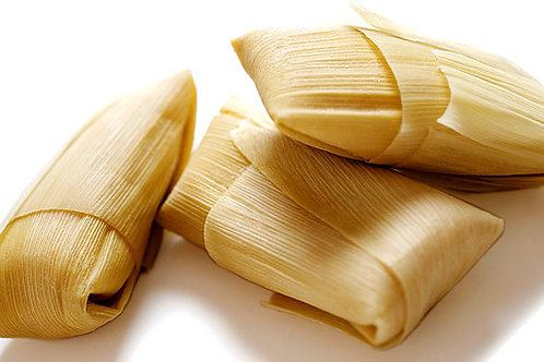 Tamales dulces de hoja de maíz