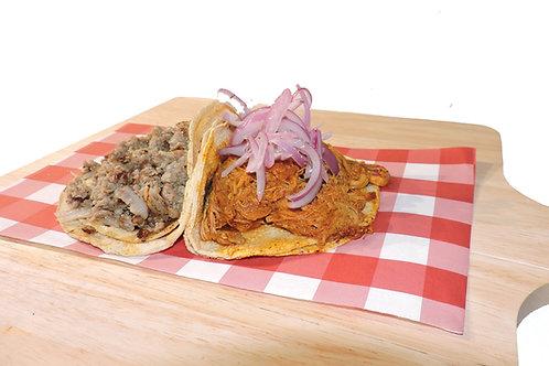 Taco (tortilla tamaño normal)