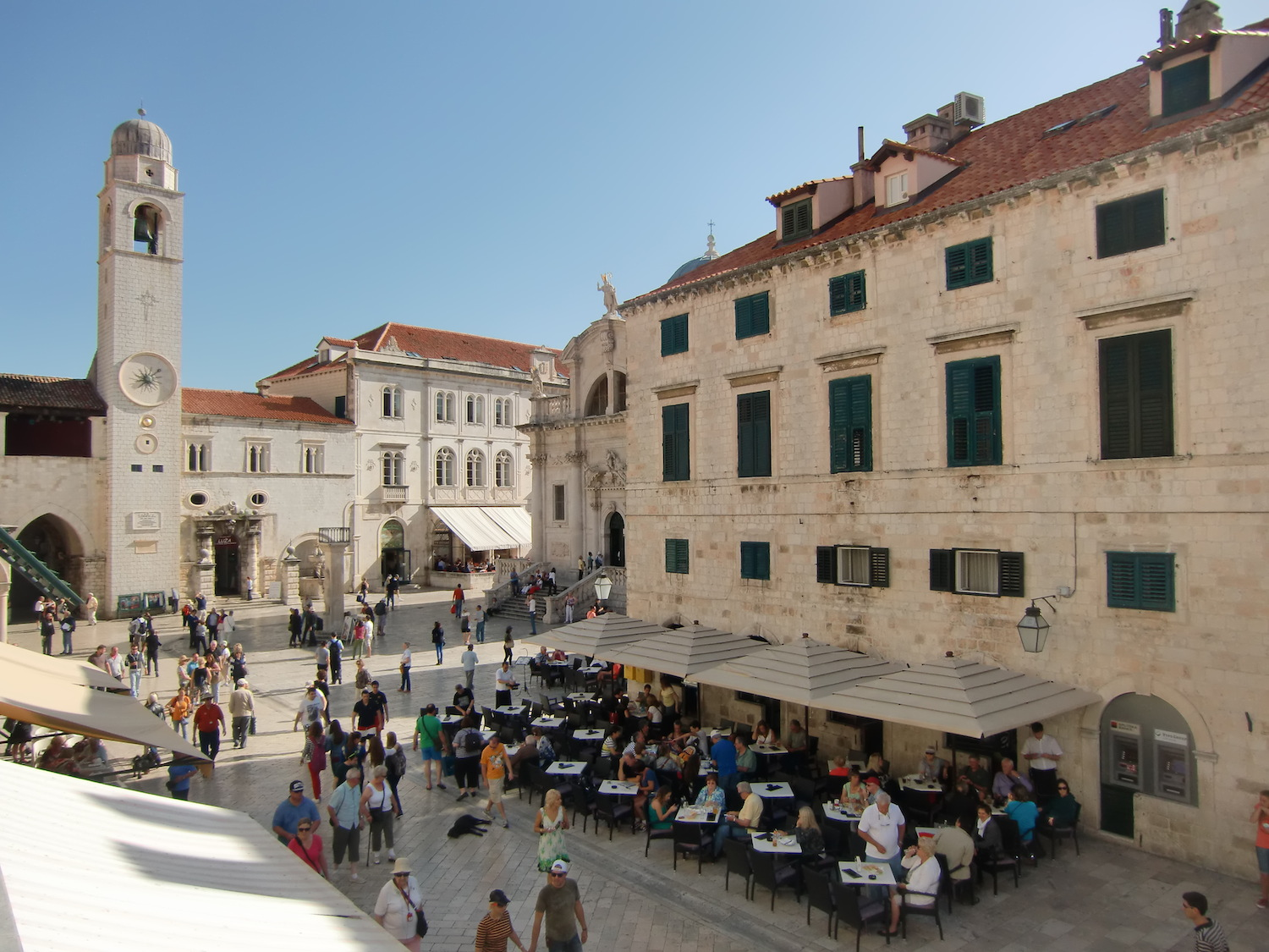 Dubrovnik old town part
