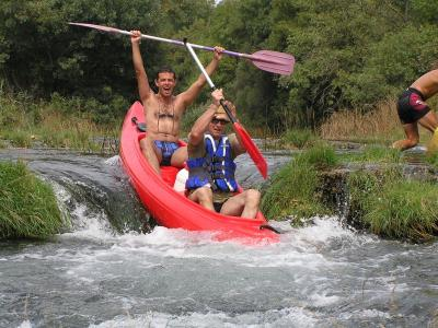 Kanu safari Trebižat