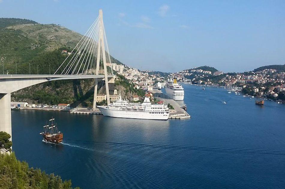 Dubrovnik Panorama Fahrt