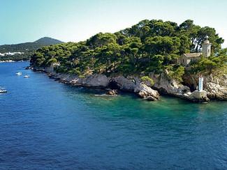 Daksa island near Dubrovnik