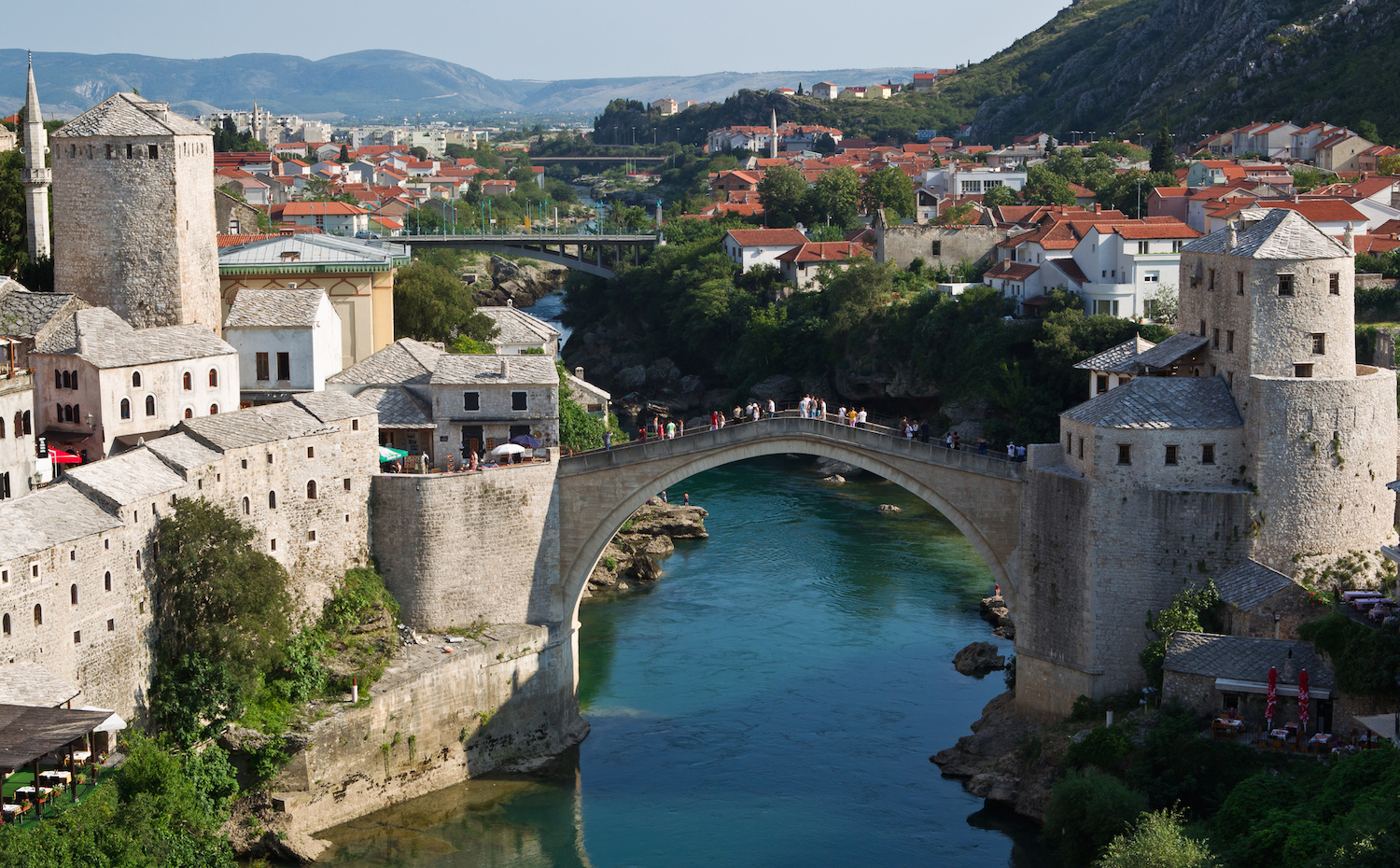 Mostar and the old town bridge
