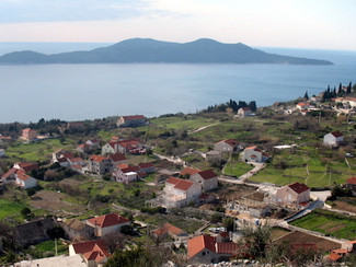 Orasac near Dubrovnik