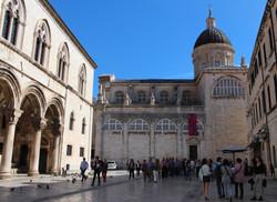 Kathedrale und der Rektoren Palast