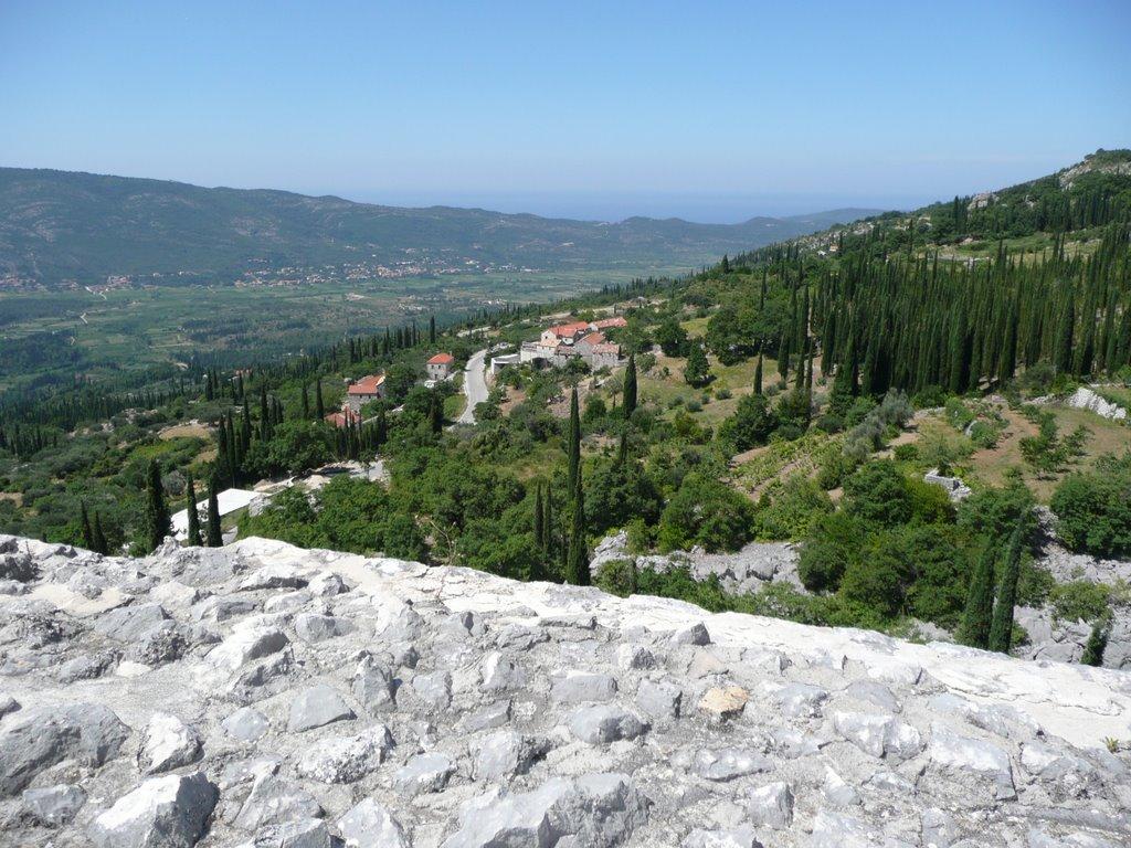Blick von der Festung aus