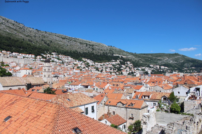 Dubrovnik city walls tour